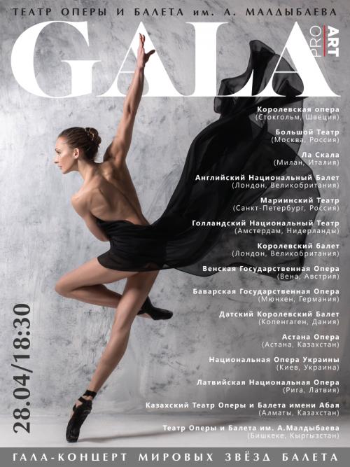 Гала-концерт Мировых звёзд балета