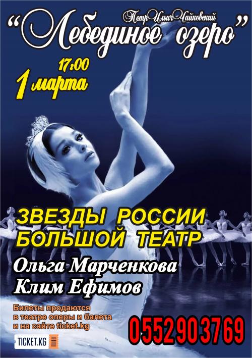 Лебединое озеро. Звезды России - Большой Театр