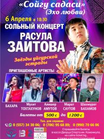 Сольный концерт Расула Заитова